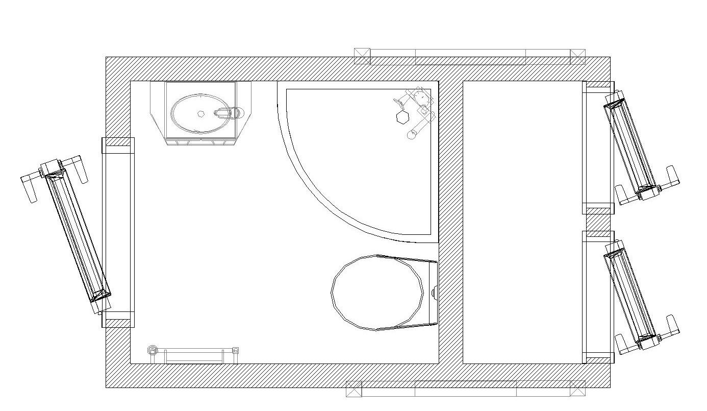 Produktkatalog   Exklusives Kleines Bad L 240 CPT | Berger Raumsysteme Bei  Bautzen