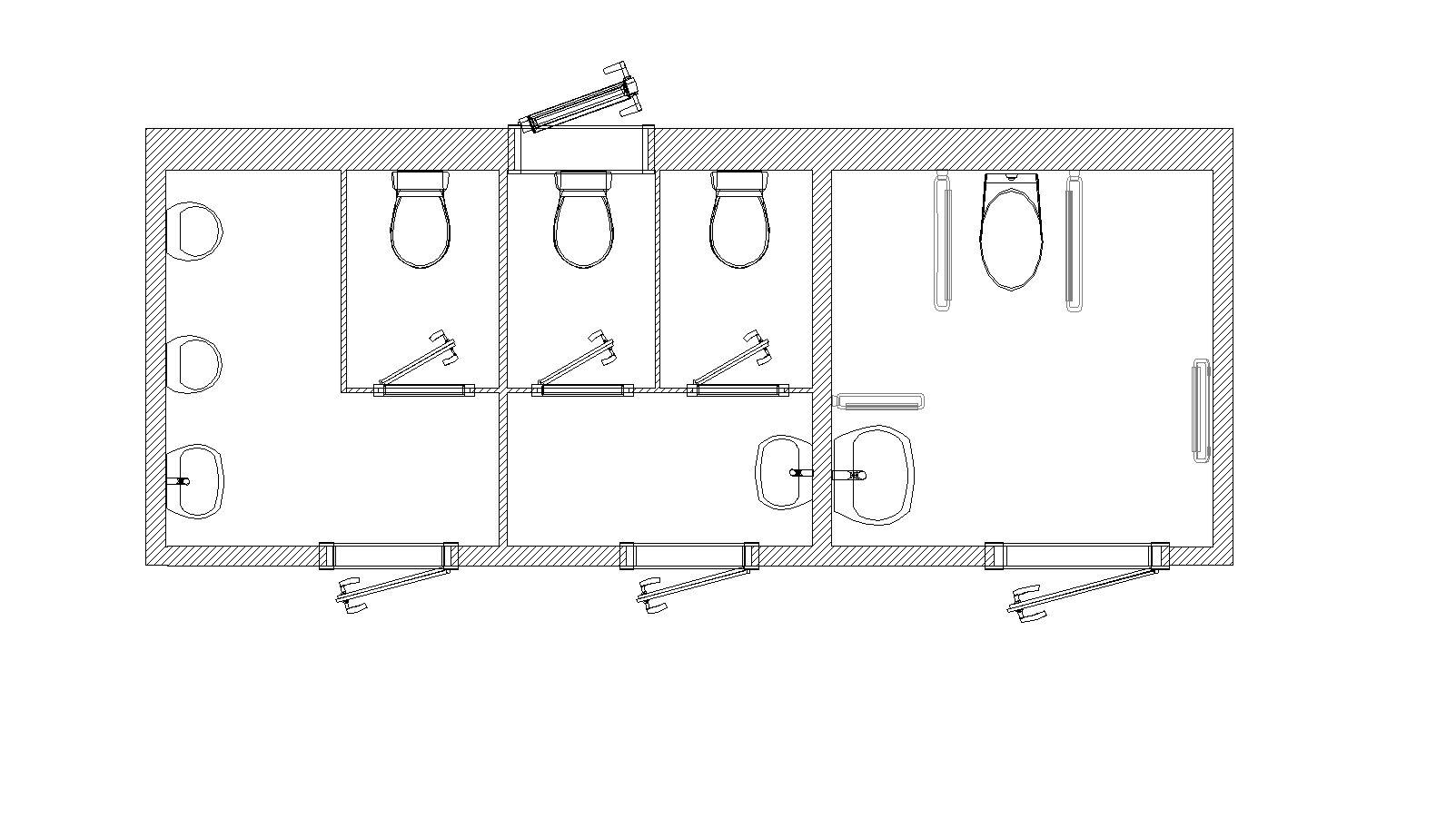 Hervorragend Produktkatalog - Toilettenanlage L 650 SB behindertengerecht OE54